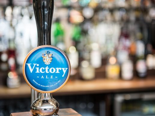 Enjoy a Victory beer